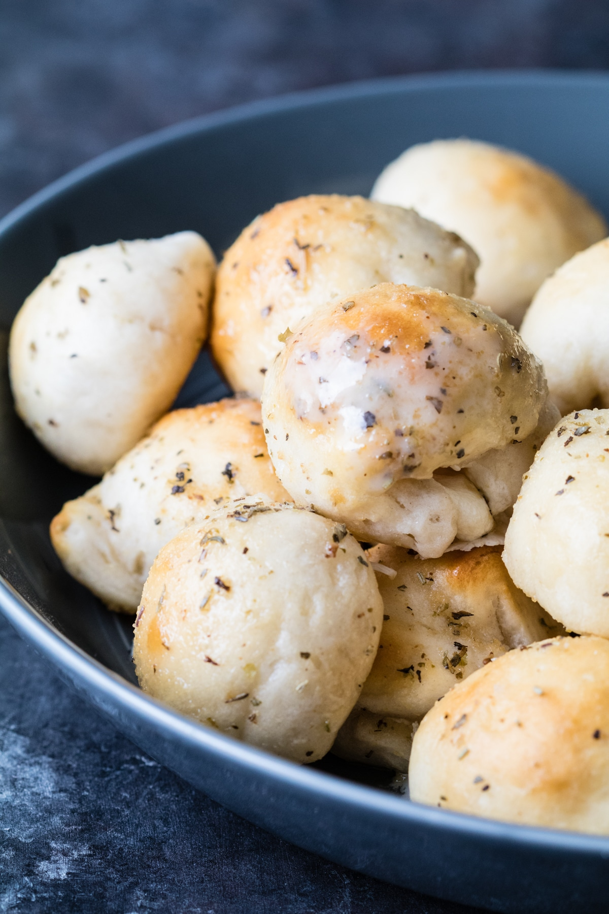 Have you ever had a garlic herb cheese bomb? Add it to your list of appetizers to make! |krollskorner.com