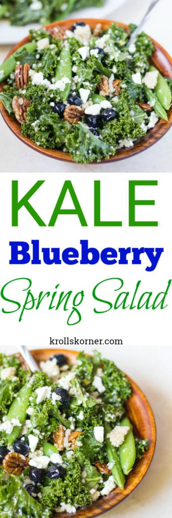 Kale Yeah this is the best kale salad you'll ever try! | krollskorner.com