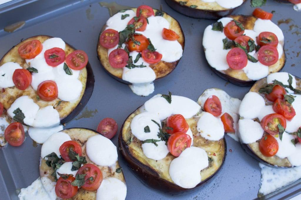 Eggplant Caprese Sliders - krollskorner.com