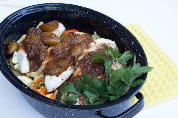 Fresh Fig Balsamic with Baked Chicken - krollskorner.com