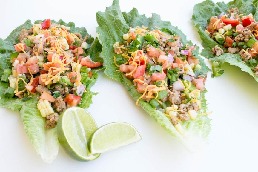 Turkey Taco Lettuce Wraps | Krolls Korner