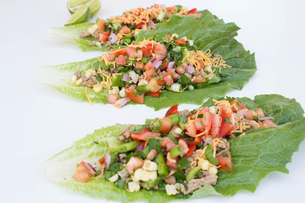 Turkey Taco Lettuce Wraps - Krolls Korner