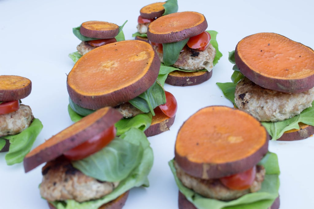Sweet Potato Turkey Burger Sliders - Krollskorner.com