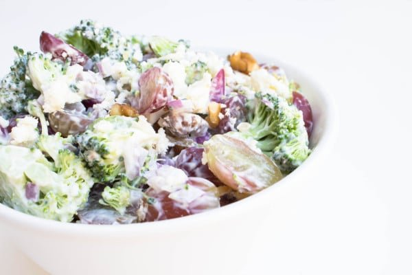 Broccoli Grape Salad! Very refreshing. Krollskorner.com