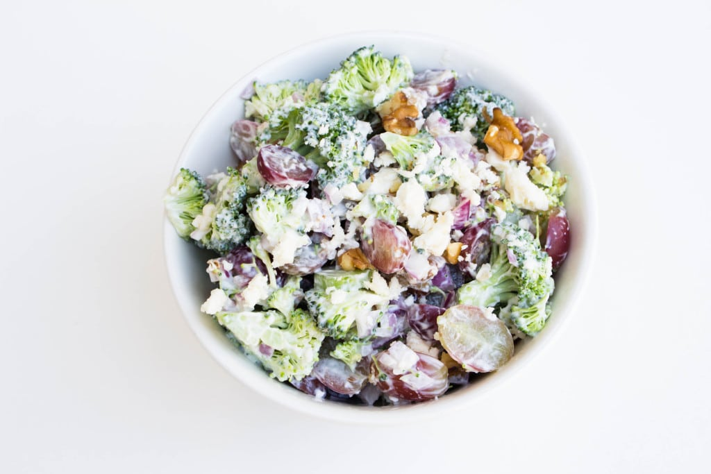 Broccoli Grape Salad! Very refreshing. Krollskorner.com