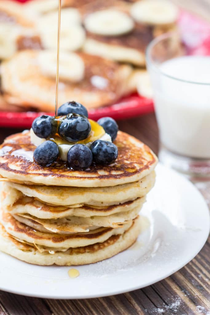 The Best Buttermilk Pancakes | Krollskorner.com