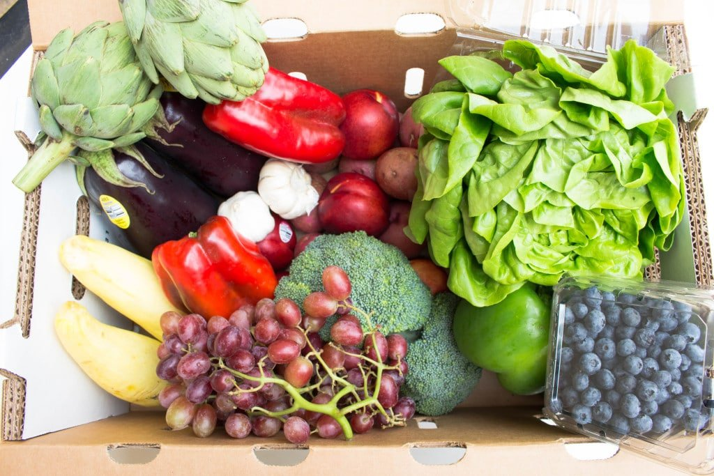 Farm to Families 1st Quality Produce Box