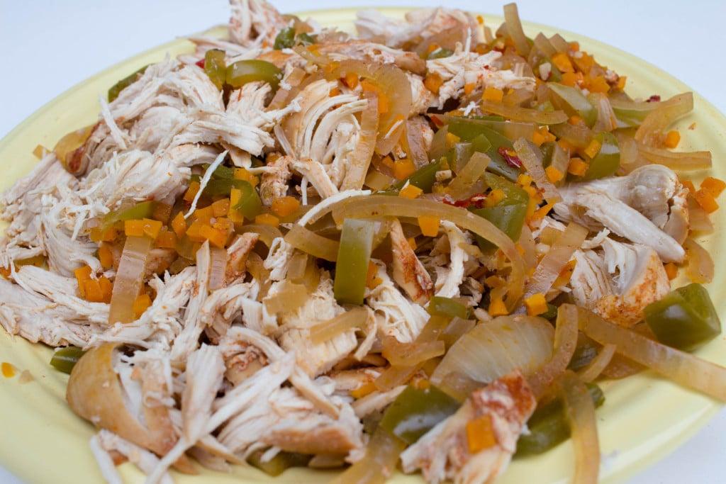 Spaghetti Squash Toastadas - YUMMM!!! Recipe found on Krollskorner.com