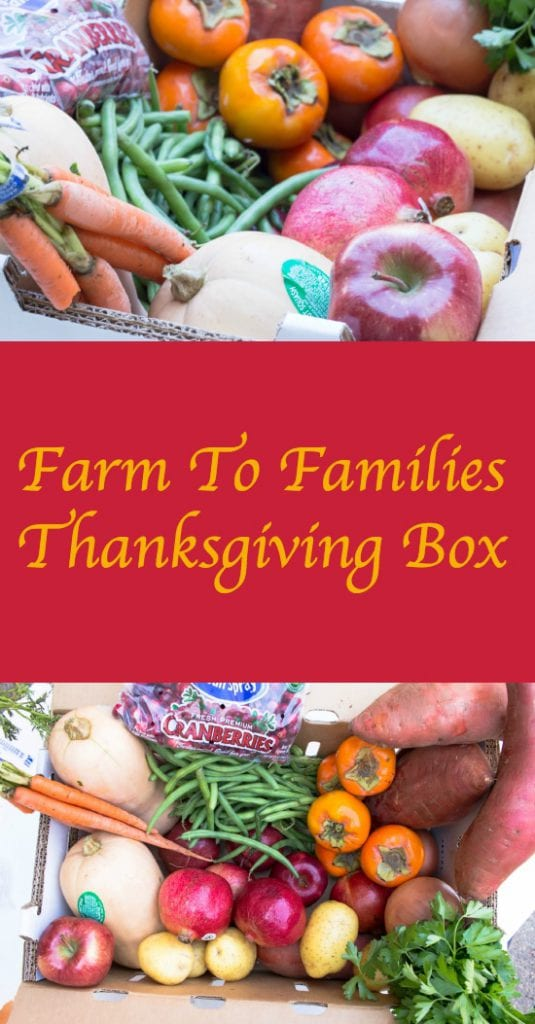 Farm to Families Produce Box - Thanksgiving Special $20.99 from 1st Quality Produce