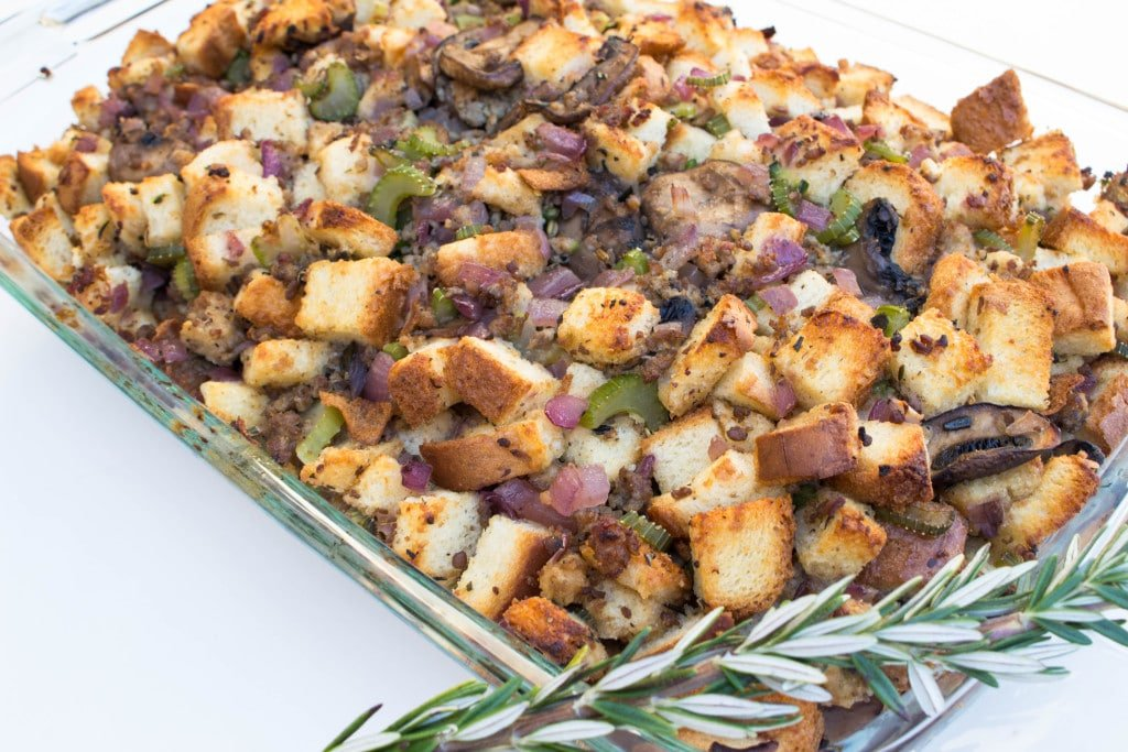 Watch Wild Rice and Chestnut Stuffing video