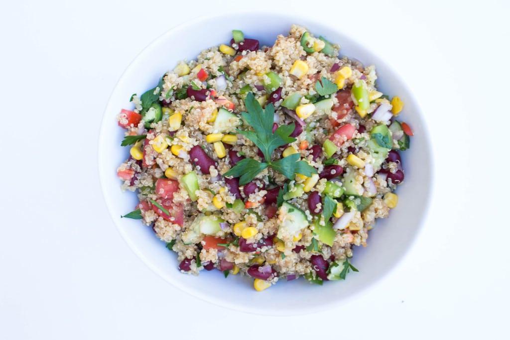 Quinoa Power Salad @ Krollskorner.com
