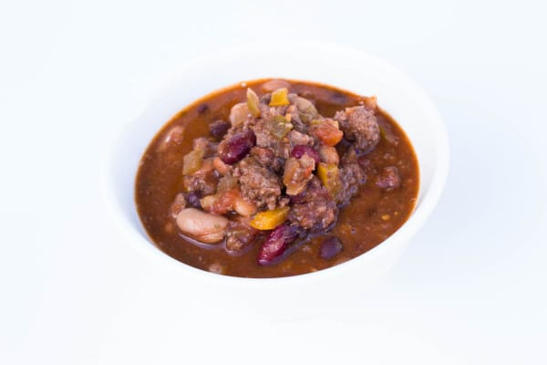 4 Bean Crock Pot Chili | Krollskorner.com