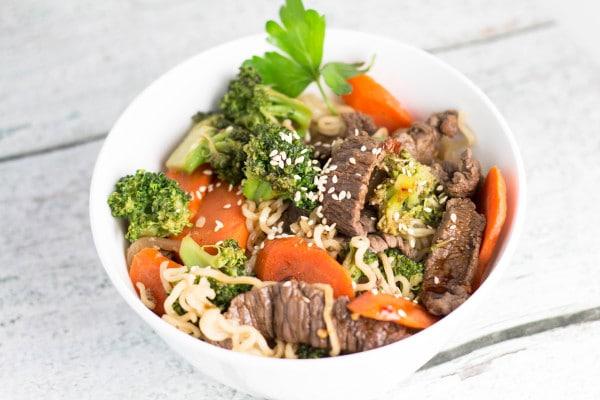 Beef Veggie Stir Fry   Krollskorner.com