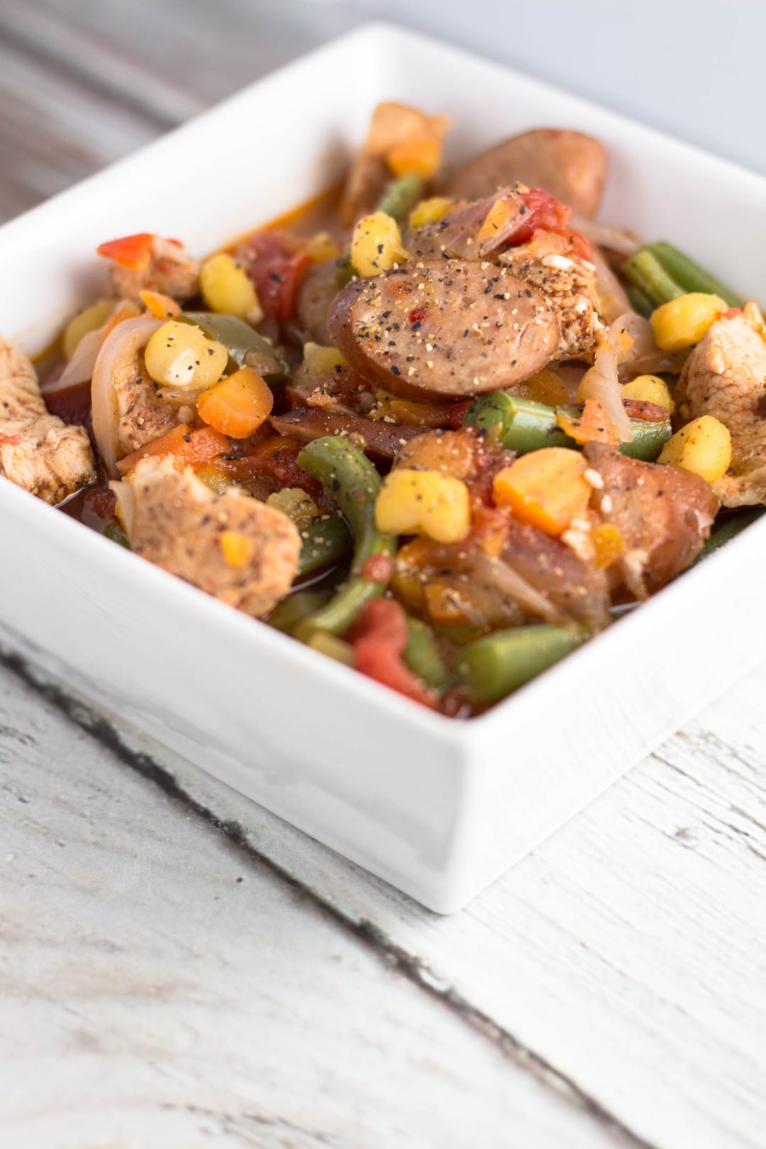 Chicken and Hominy Stew | Krollskorner.com