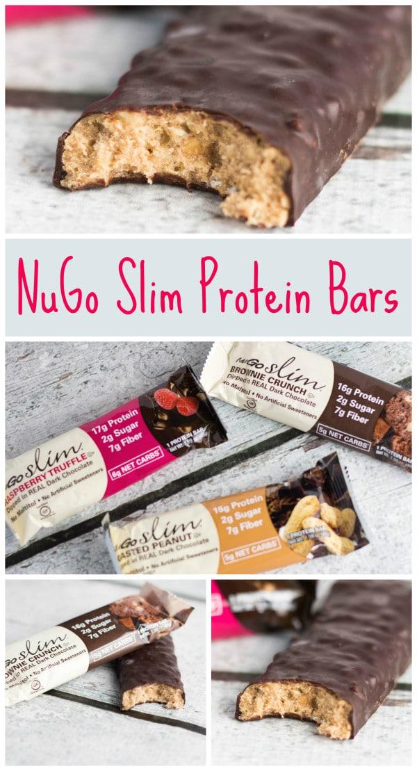NuGo Slim Protein Bars | https://krollskorner.com/nutrition/nugo-protein-bars/
