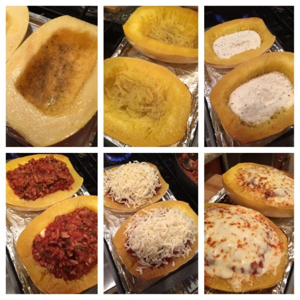 Lasagna Spaghetti Squash   Krollskorner.com