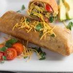 Veggie-Filled Breakfast Crunch Wrap Burrito | Krollskorner.com