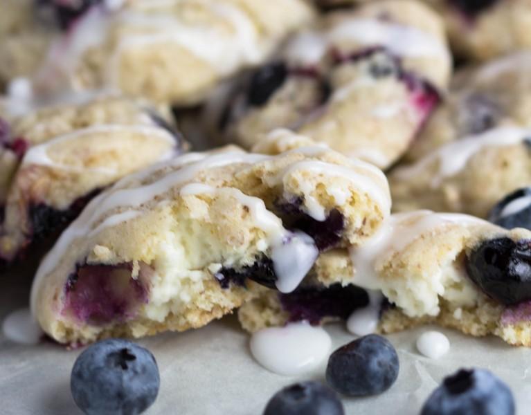 Lemon Blueberry Cookies!   Krollskorner.com