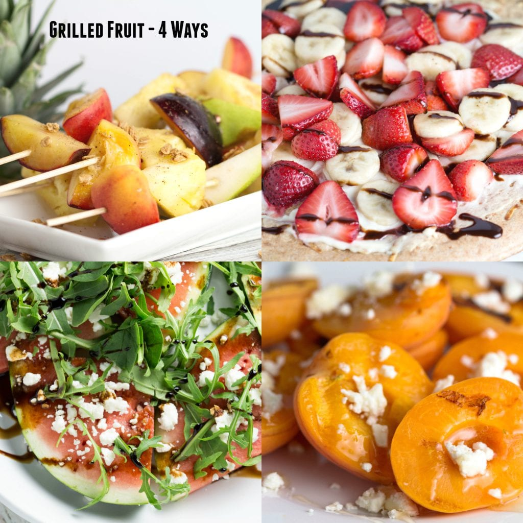 Grilled Fruit - 4 Ways! |Krollskorner.com