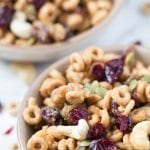 High Protein Cheerio Trail Mix - Gluten Free | Krollskorner.com