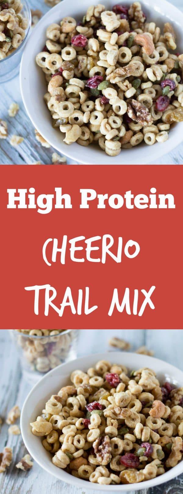 High Protein Cheerio Trail Mix  Krollskorner.com