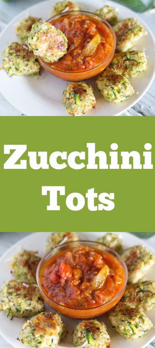 Zucchini Tots by The Foodie Physician! She is simply a genius! http://www.thefoodiephysician.com/