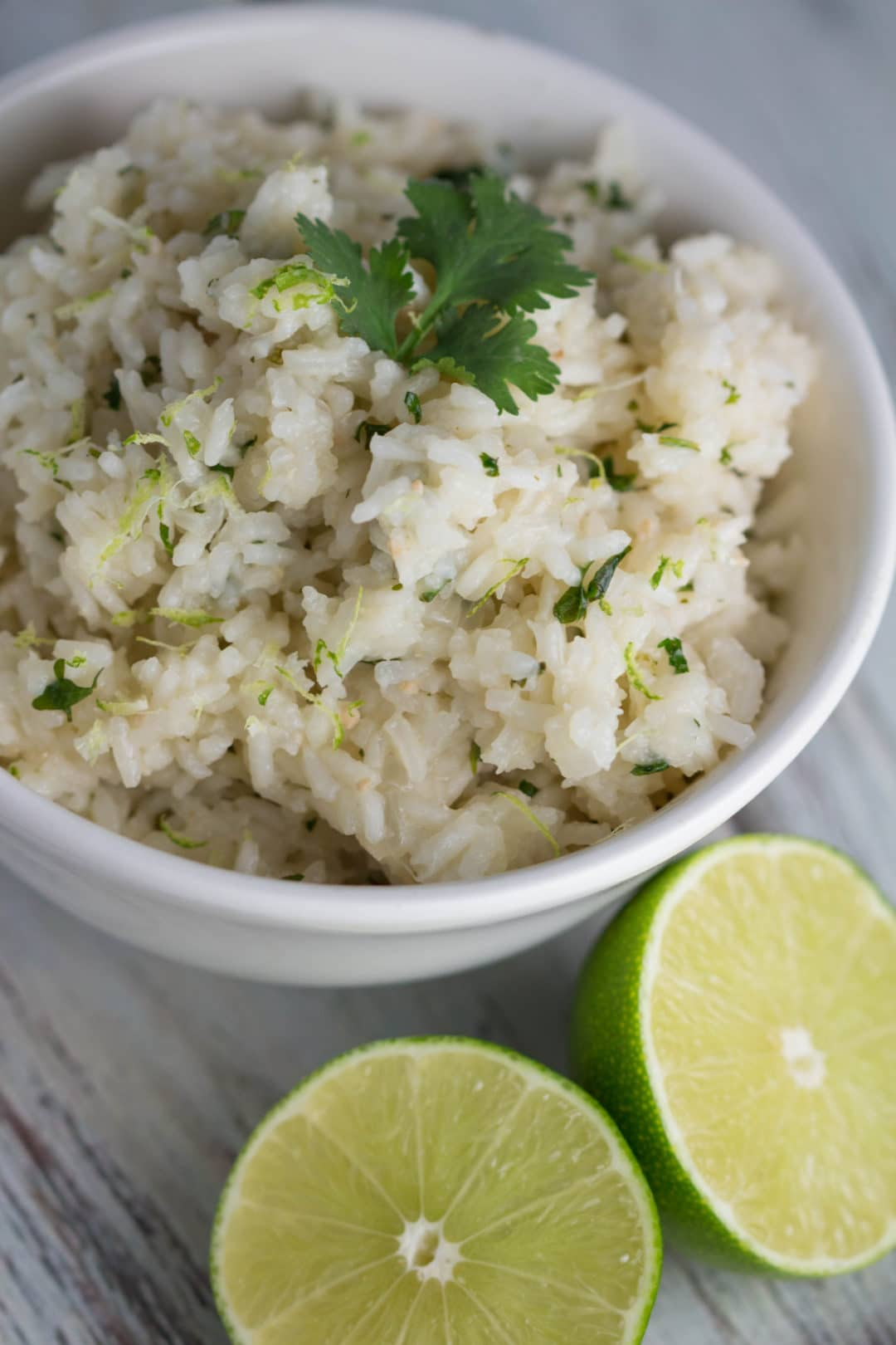 Cilantro Lime Rice...perfect addition for Taco Tuesday or as a side dish!  Krollskorner.com