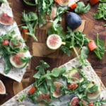 20-Minute Figgy Flatbread! Ditch the high fat pizza's and swap it out with this antioxidant rich flatbread!  Krollskorner.com