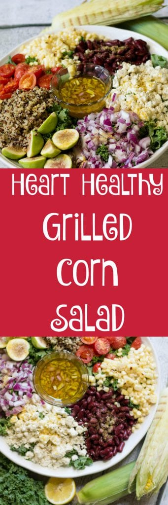 Heart Healthy Grilled Corn Salad