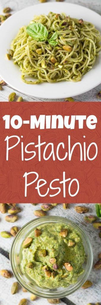 10-Minute Pistachio Pesto - krollskorner.com