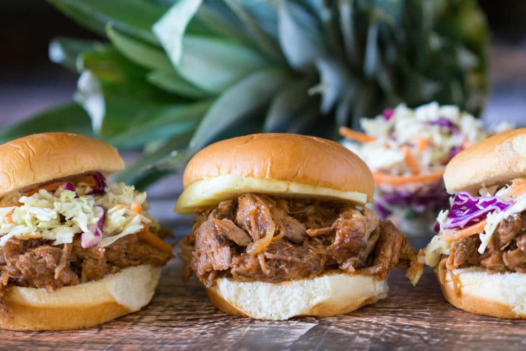 BBQ pork sliders are an easy and delicious Labor Day must have!  krollskorner.com