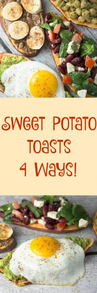 New-ish trend: slices of sweet potato instead of sliced bread. I'm game! These are just 4 ways to enjoy Sweet potato toast...the opportunities are endless! Krollskorner.com