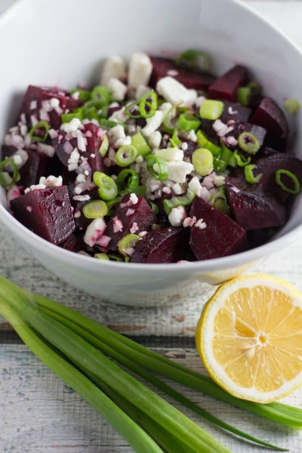 This makes for a perfect flavorful Spring salad, and with only 7 ingredients it's an easy and healthful recipe loaded with nutrients. Krollskorner.com