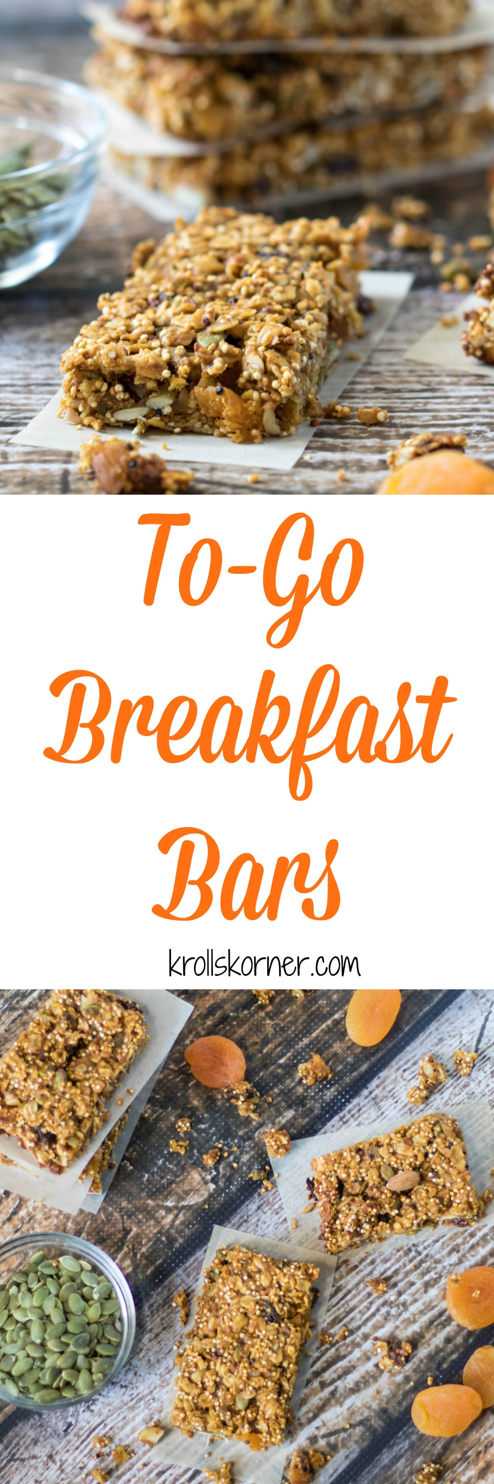 Easy, To Go Breakfast Bars Are A Must This Time Of Year. These