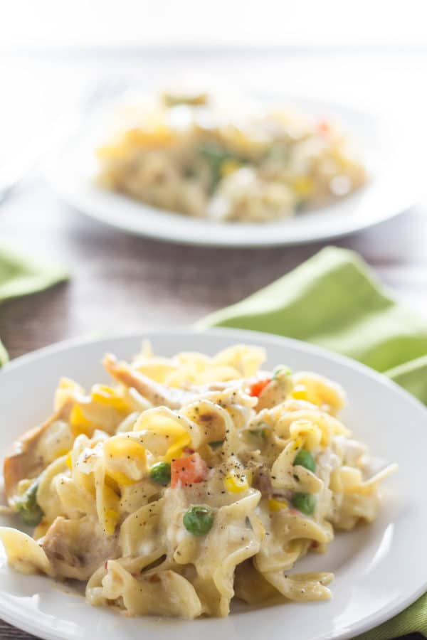 We've all had a pot pie before, but have you had a Pot Pie Pasta Casserole?! I am all about remaking standard recipes and putting my healthy twist on it! |krollskorner.com