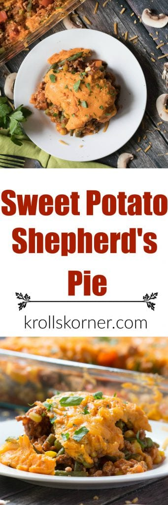 shepherds pie on a white plate