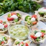 Vegetarian Lentil Won Ton tacos - krollskorner.com