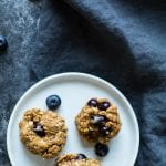 These peanut butter blueberry cookies are everything a peanut butter lover wants in a cookie - moist, chewy and peanut butter filled! |krollskorner.com