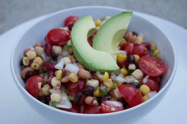 Vegetarian Bean Dip |Krollskorner.com