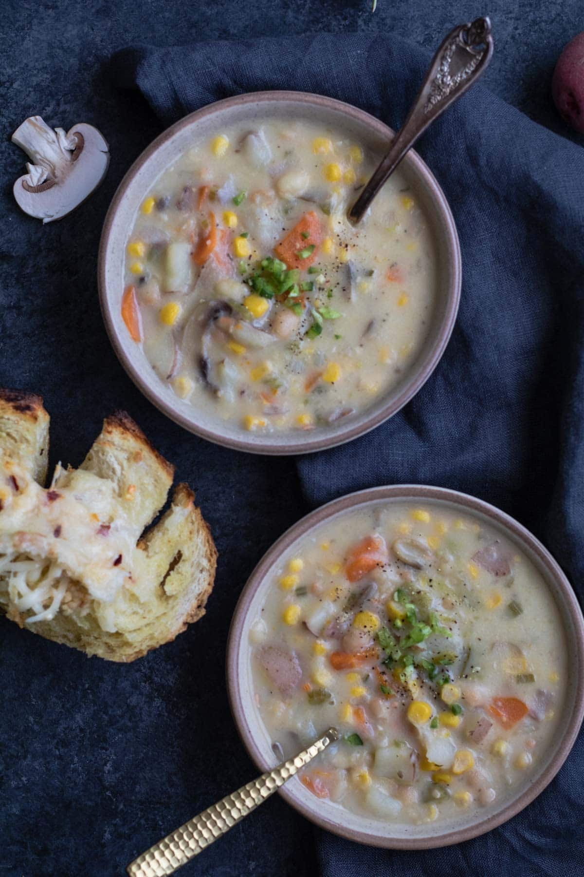 Instant Pot Corn And Potato Chowder 30 Minute Dinner