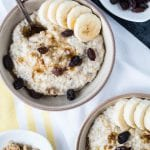 Instant Pot Steel Cut Oats make mornings MUCH easier or prep the night before, and heat up in the AM! krollskorner.com