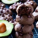 Celebrate American Heart Month with these Avocado Chocolate Cookies with Mission Produce Avocados! #CheckMeOut