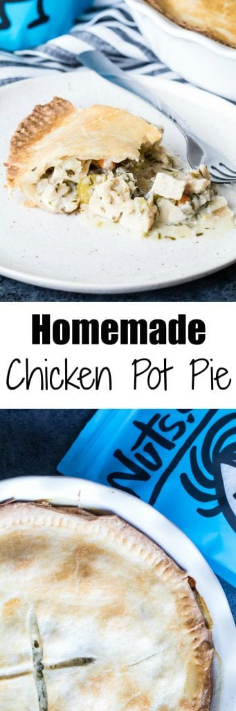 #Sponsored| The Best Homemade Chicken Pot Pie to celebrate National Pie Day! Nuts.com #KrollsKorner