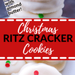 ritz crackers covered in white chocolate