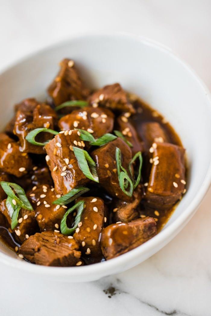 Crock Pot Teriyaki Steak Bites Easy And Flavorful