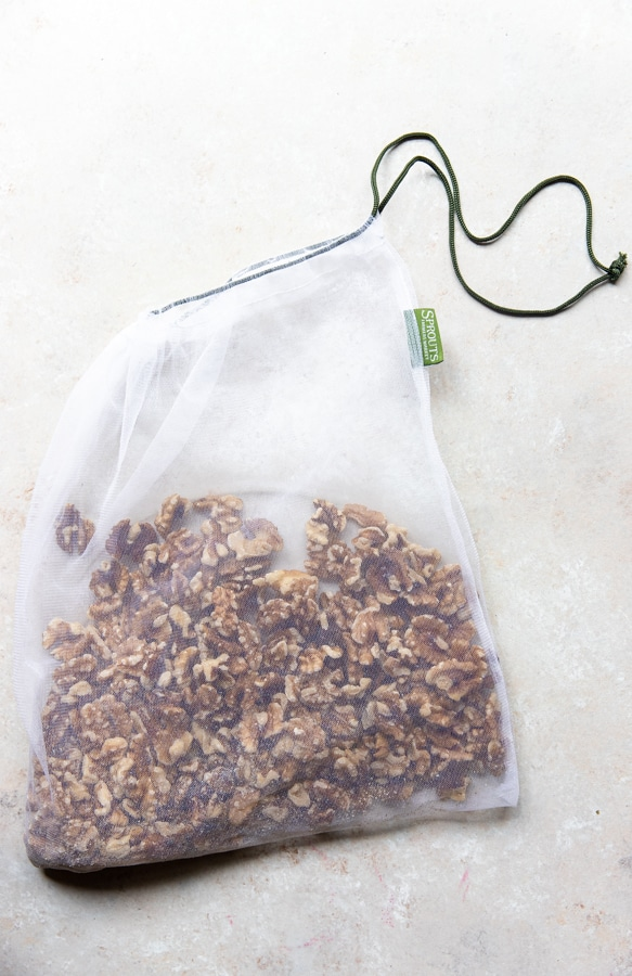 walnuts in a bag