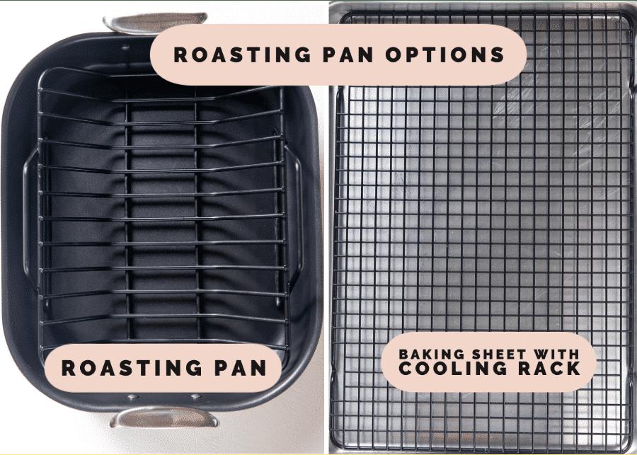 a roasting pan