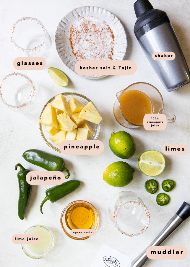 pineapple margarita ingredients