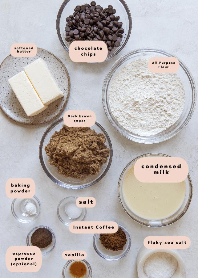 cookie bars ingredients