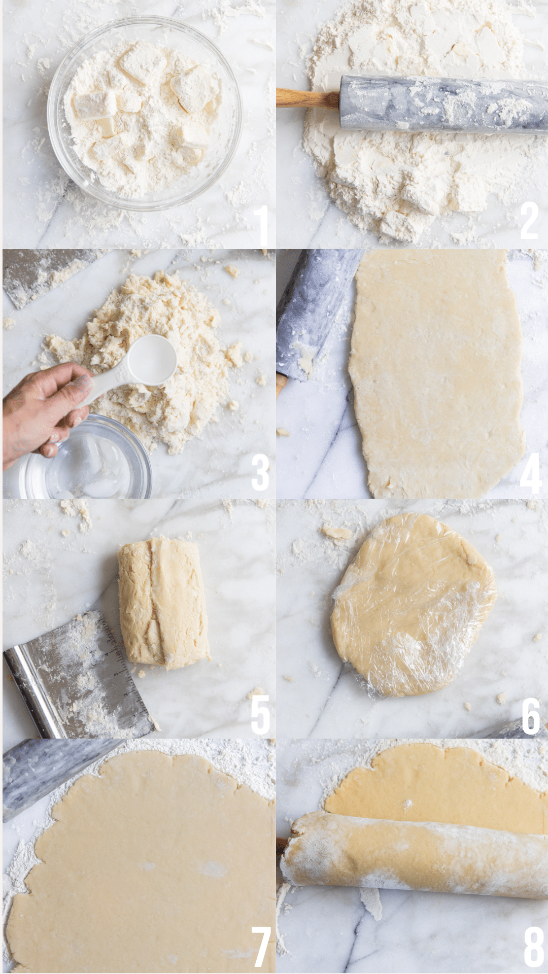 how to make the dough for a galette